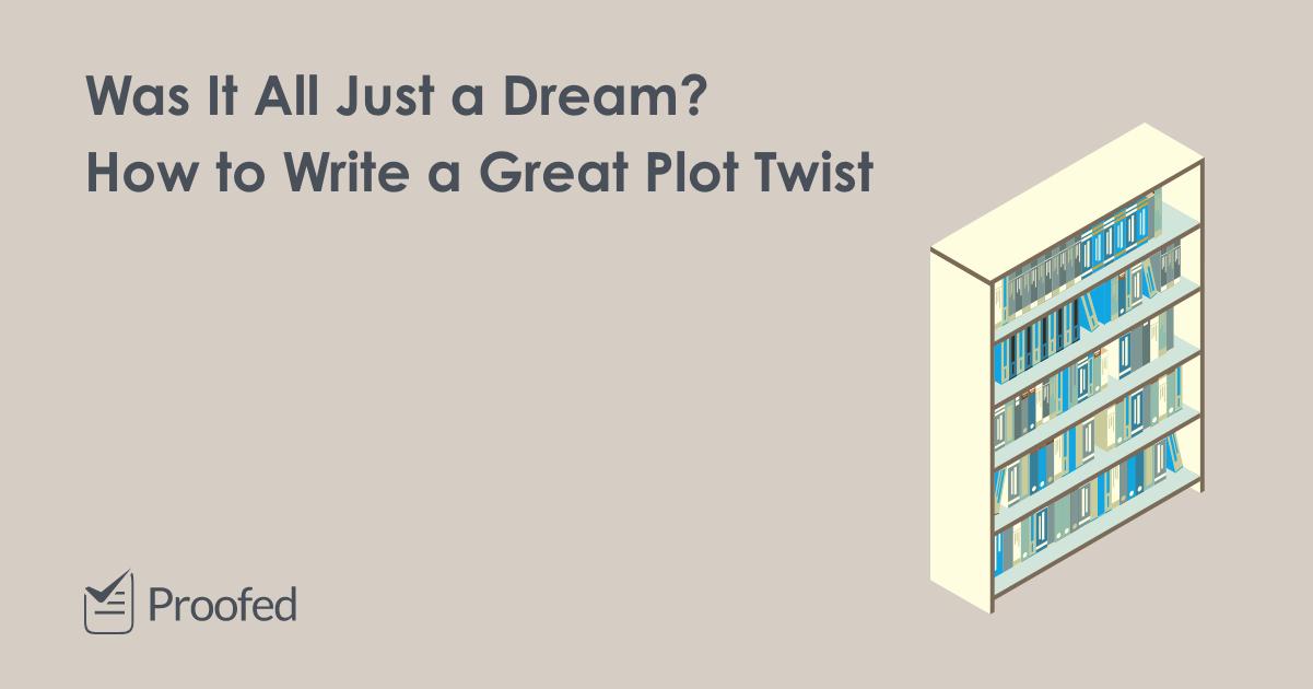 How to Write a Stunning Plot Twist