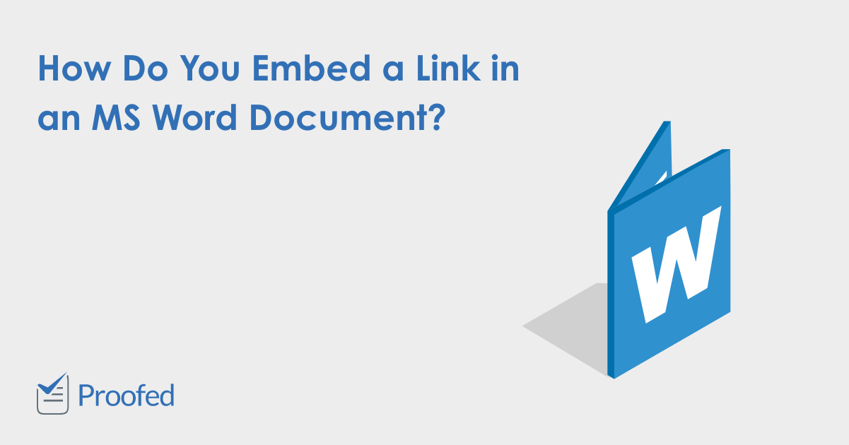 How to Add a Hyperlink in a Microsoft Word Document