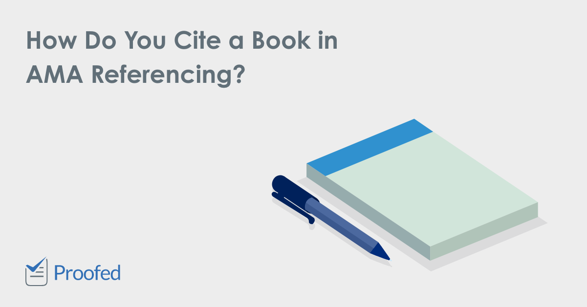 How to Cite a Book in AMA Referencing