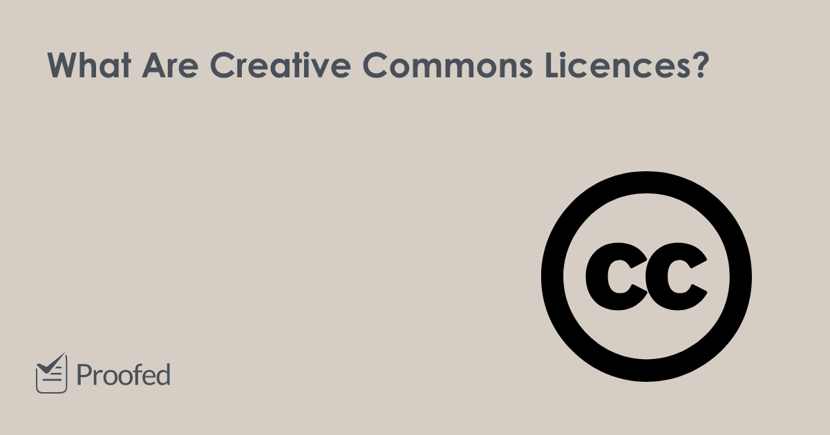 A Guide to Creative Commons Licences