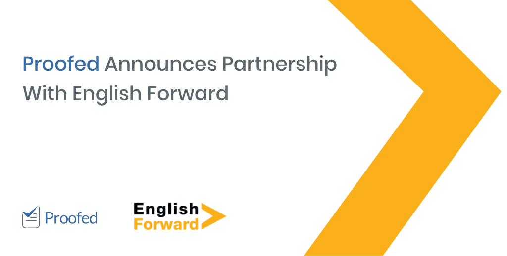 Proofed Announces Partnership With English Forward