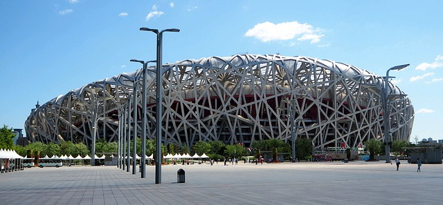 The Bird's Nest Stadium in Beijing is considered the largest steel structure in the world.