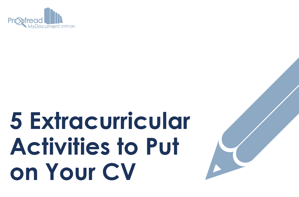 5 Extracurricular Activities To Put On Your Cv