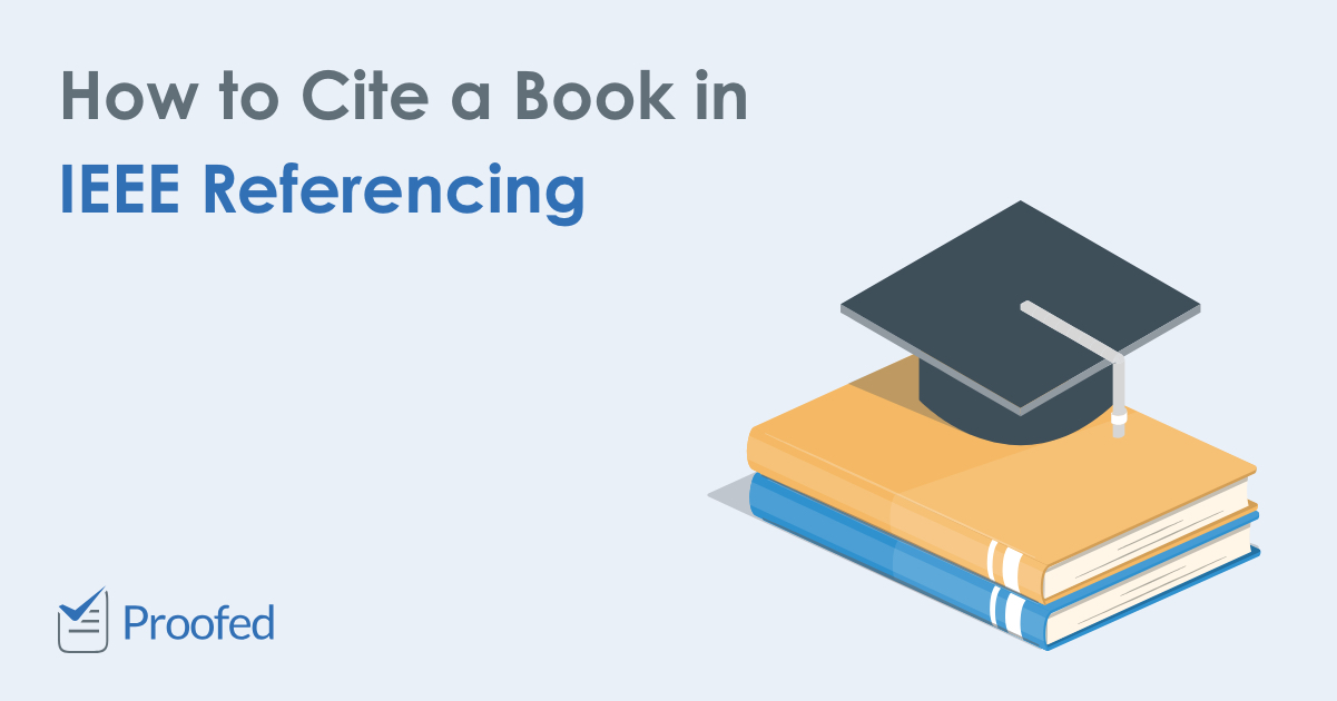 How to Cite a Book in IEEE Referencing