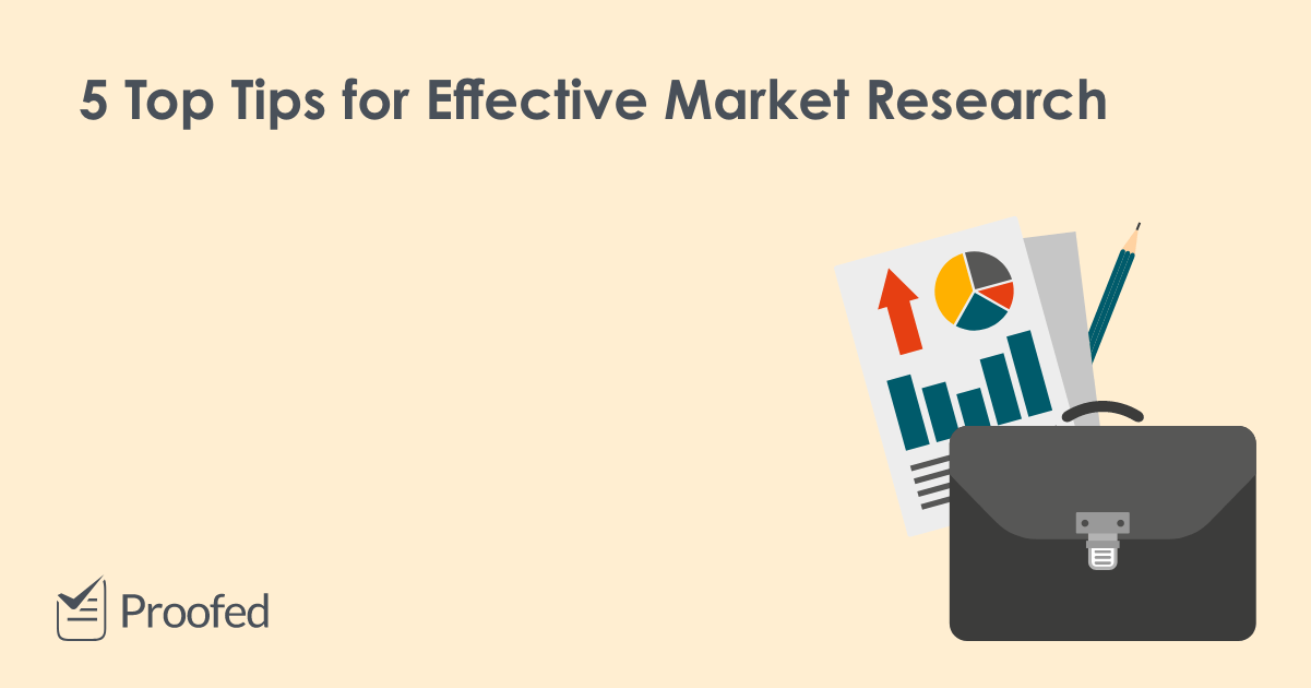 5 Tips for Conducting Effective Market Research