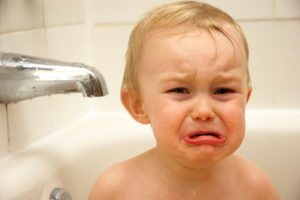 Providing evidence of your child's tears isn't compulsory. (Photo: Kyle Flood/wikimedia)