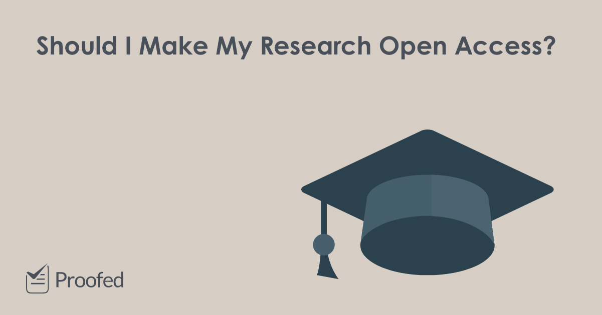 Should I Make My Research Open Access?