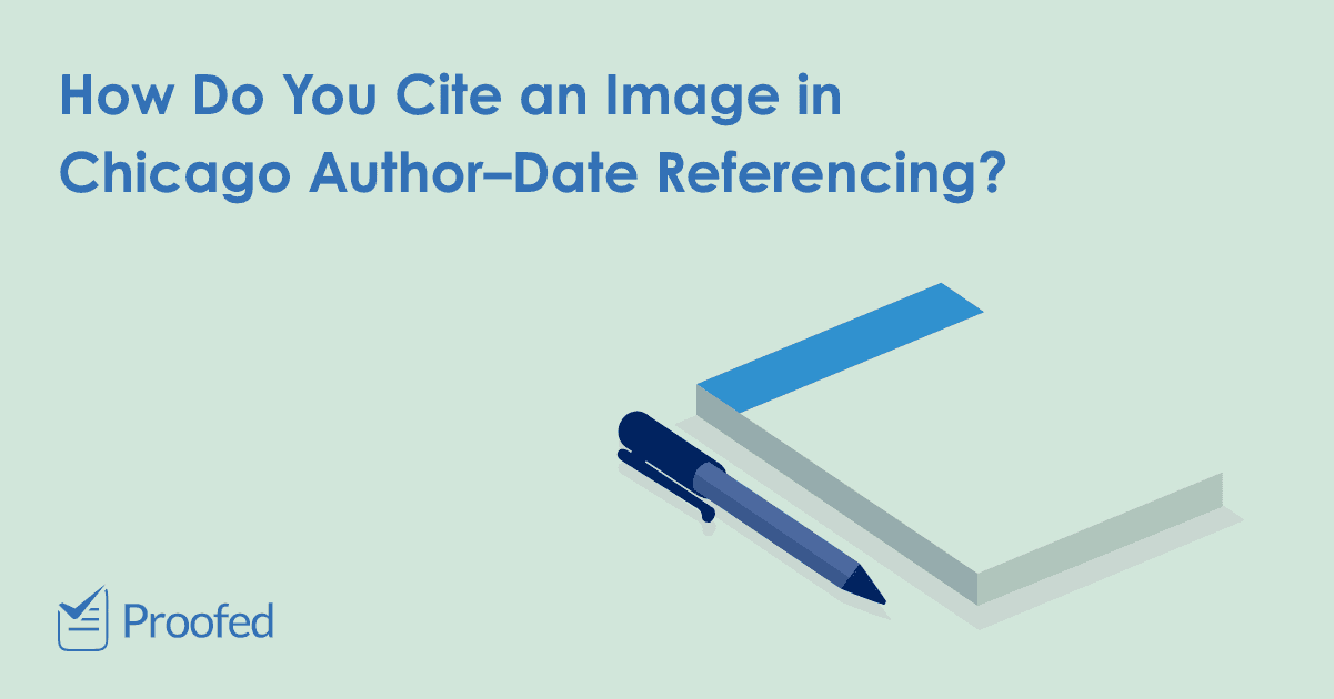 How to Cite an Image in Chicago Author–Date Referencing