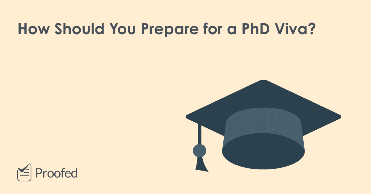 How to Prepare for Your PhD Viva