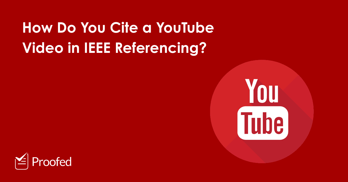 How to Cite an Online Video in IEEE Referencing