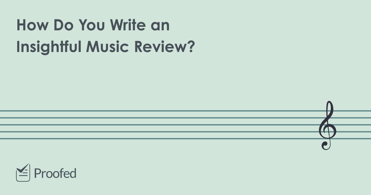 Writing Tips How to Write a Music Review