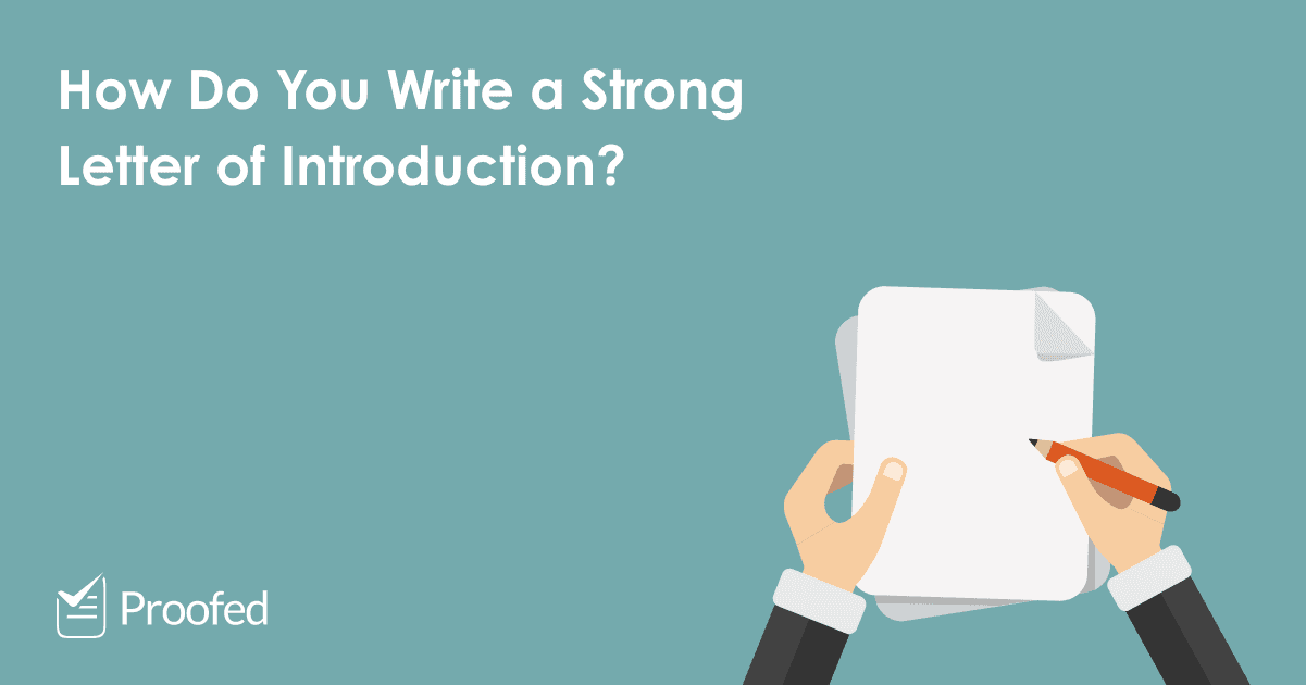 How to Write a Letter of Introduction