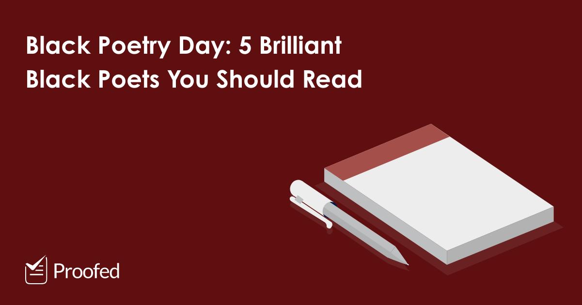 Black Poetry Day 5 Brilliant Black Poets You Should Read