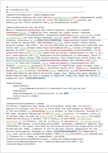 LaTeX Proofreading (After Editing)