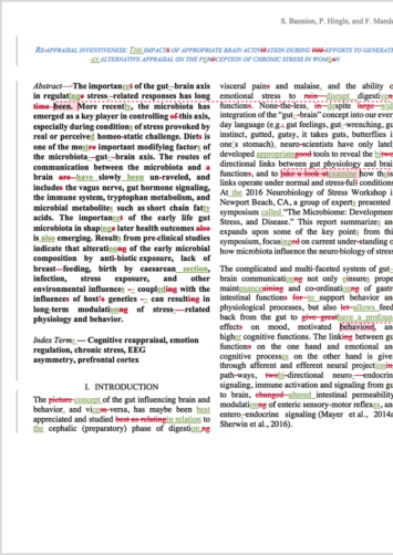 Research Article Proofreading Example (After Editing)