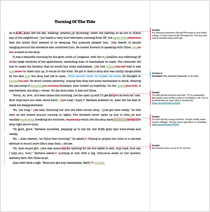 Ebook Proofreading Example (After Editing)