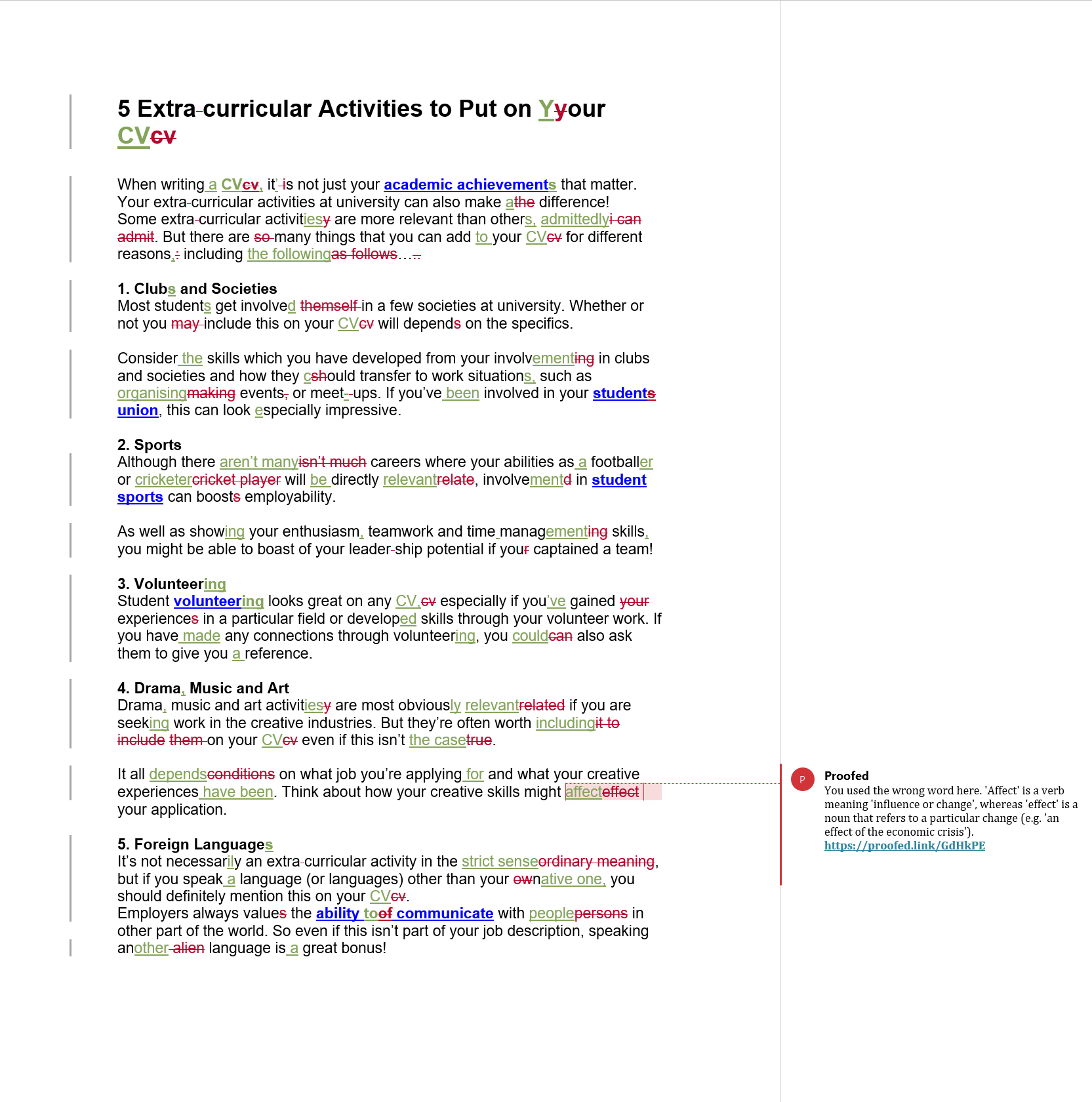 Blog Proofreading Example (After Editing)