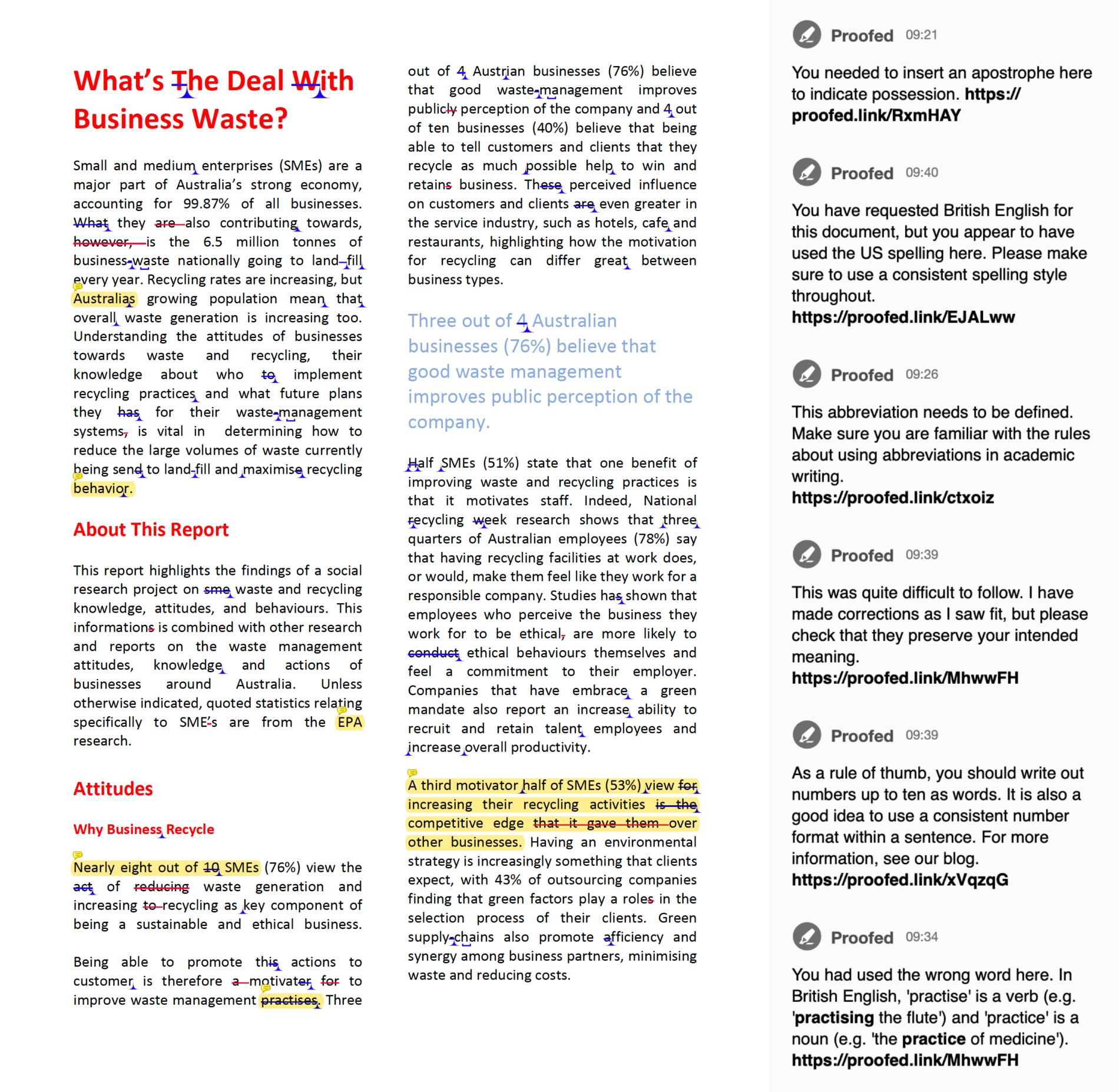 PDF Proofreading Example (After Editing)