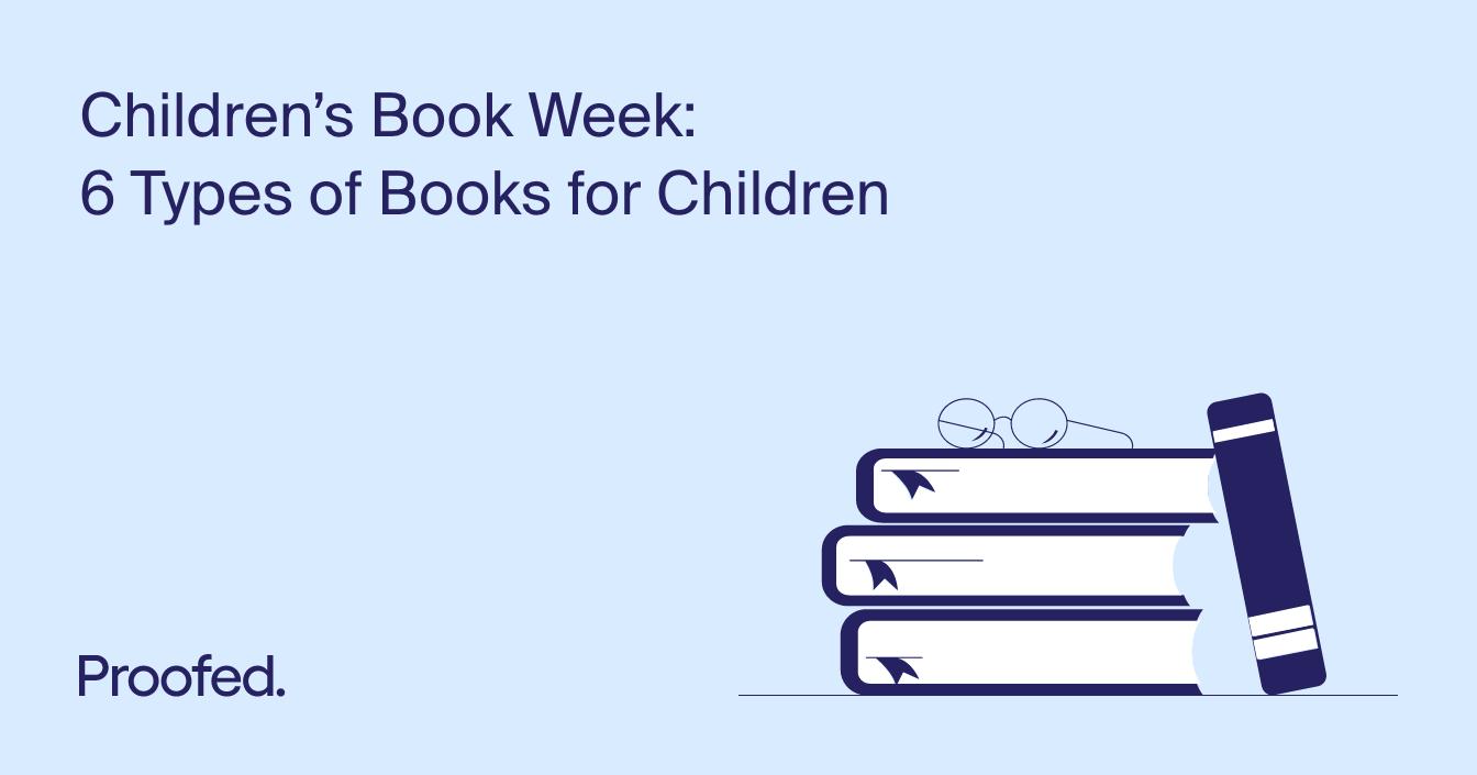 Children's Book Week: 6 Types of Books for Children